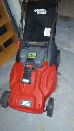 Black decker careless mower for Sale in Garland, TX