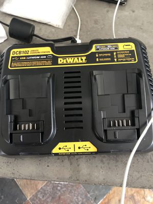 DeWALT battery charging and phone charger Brand new for Sale in Pembroke Pines, FL
