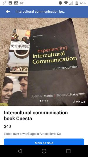 Intercultural communication text for Cuesta for Sale in Atascadero, CA