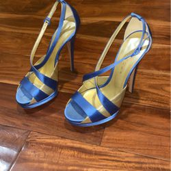 Casadei Women Heel Size 9 Run Smaller In Good Condition for Sale in Los Angeles,  CA