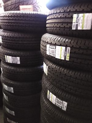 St 225/75/15 Set of brand new trailer tires 10 Ply $250 for Sale in Phoenix, AZ