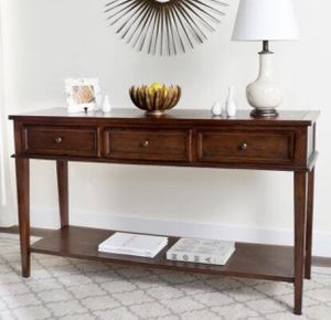 3-drawer console table for Sale in Irvine, CA