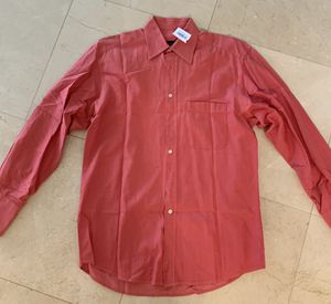 Gucci Men Dress button up shirt - pink red salmon size L large for Sale in Miami, FL