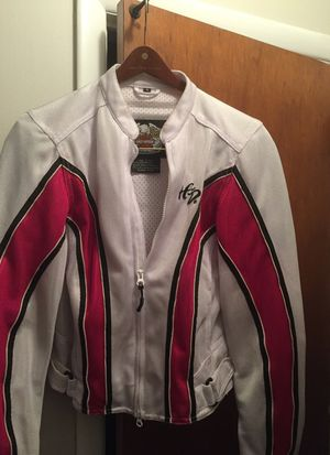 Harley Davidson ladies motorcycle jacket size small for Sale in Fair Lawn, NJ