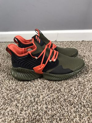 Adidas AlphaBounce Instinct CC Olive Team Orange F35394 New without box for Sale in Tallmansville, WV