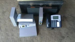 Modem router and phones for Sale in Hudson, FL