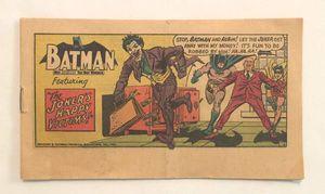 Vintage 1966 Batman Pop Tarts promo mini comic book The Joker's Happy Victims for Sale in Phoenix, AZ