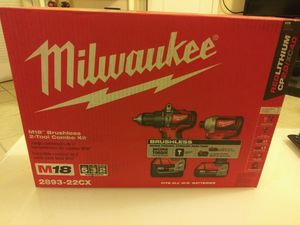 Milwaukee M18 Drill Set for Sale in Philadelphia, PA
