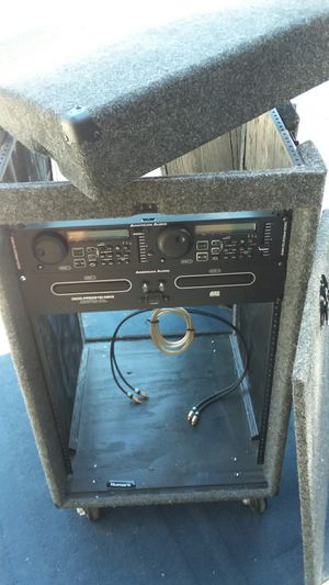 DJ studio rack cabinet combo Pearson American Audio DCD-PRO 310 MKII for Sale in Brentwood, CA