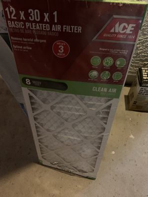 12x30x1 air filter free! for Sale in Phoenix, AZ
