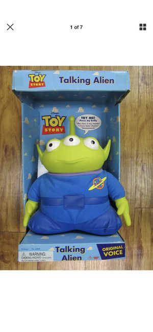 "RARE Original NIB Toy Story Talking Alien 12"" tall for Sale in Bothell, WA"
