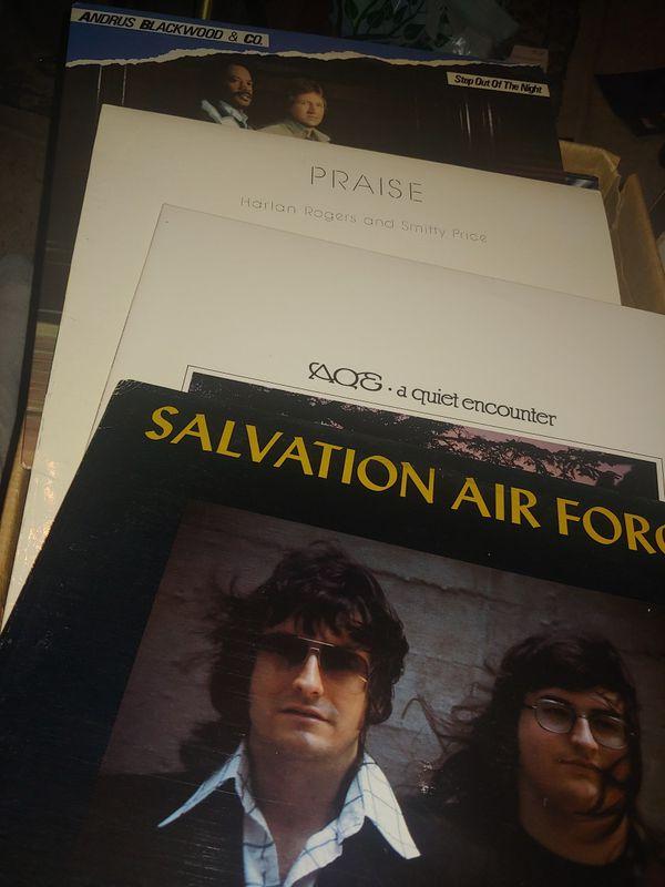 31 CHRISTIAN GOSPEL RECORDS 1970s ALBUMS LPs ROCK