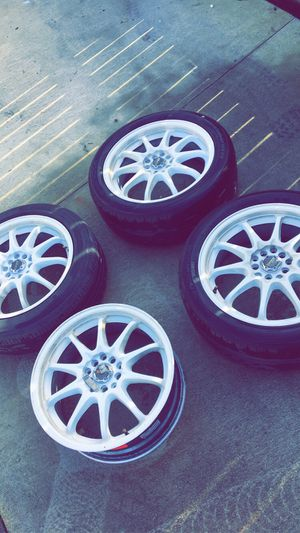 5x100 5x114 drag dr-9 wheels for Sale in Vancouver, WA