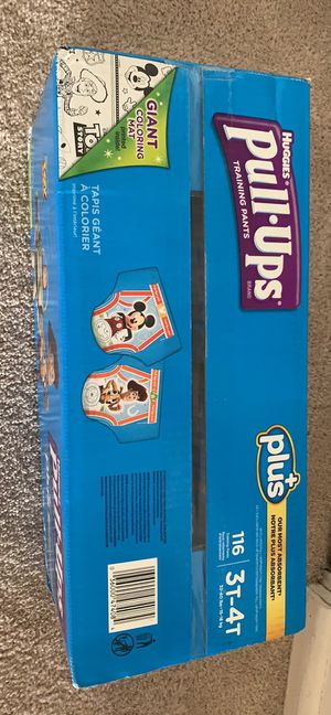Huggies pull up Diapers 3t-4t,116 count. for Sale in Fairfax, VA