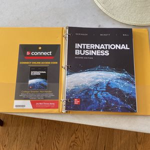 Brand New International Business Book for Sale in Long Beach, CA