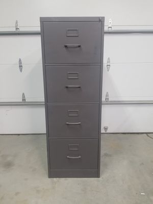 Locking metal file cabinet for Sale in Seattle, WA