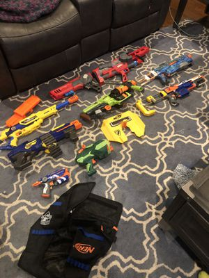 Multiple nerf guns for sale. If you know nerf, you know these are pretty expensive...will sell all for $200. for Sale in Walnut Creek, CA