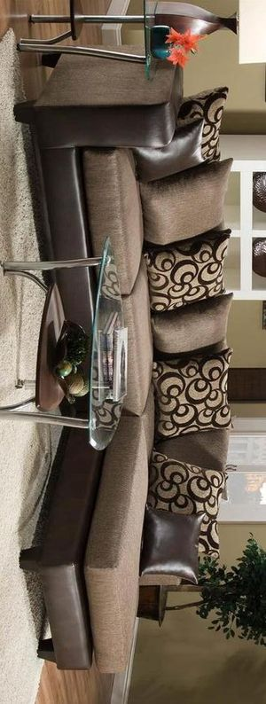 Dora sectional sofa Brown for Sale in Houston, TX
