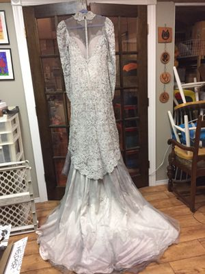 Halloween Gray Lavender Corpse Bride Wedding Dress for Sale in Crystal Lake, IL