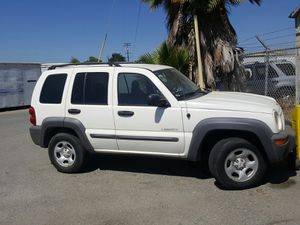 2004 jeep liberty sport .bad motor. Eng no good. Miles 200k clean ca title tags exp 7 19 driver window broke... no offers for Sale in San Diego, CA