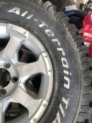 Like new Set of 2 - BF trailer tires - First $160 cash takes for Sale in Lehi, UT