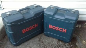 BOSCH TOOL CASE BOXES ONLY for Sale in Portland, OR