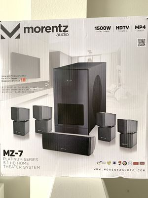 MORENTZ AUDIO 1500W HOME THEATER for Sale in SUNNY ISL BCH, FL