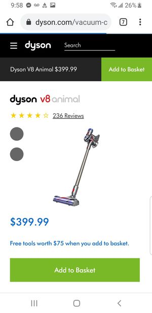 Dyson V8 Animal Vacuum for Sale in Spokane, WA