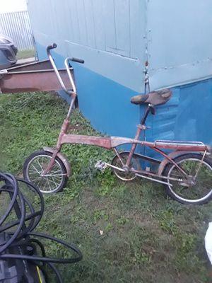 Bicicleta muy antigua folding bike for Sale in Dallas, TX
