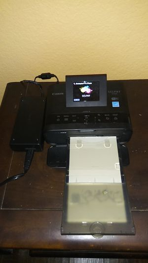 Canon SELPHY CP compact photo printer $79.99 OBO for Sale in Phoenix, AZ