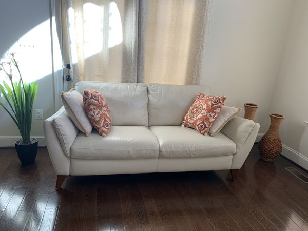 Italian Leather Sofa & Loveseat