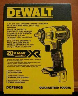 "Dewalt 20V Max XR 3/8"" Impact Wrench for Sale in Monroe Township, NJ"