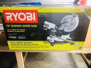 Sliding Miter Saw with laser for Sale in Miami, FL