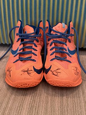 SIGNED Lebron 11 Shoes (Kyrie & Varejao) (Cavs) for Sale in Greenwich, CT