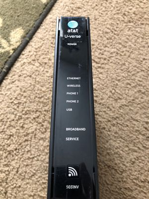 At&t modem router combo for Sale in San Diego, CA