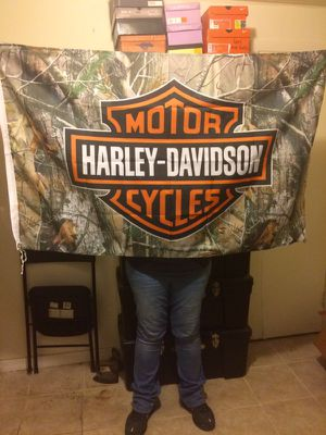 Harley Davidson Realtree Camo Banner for Sale in Jacksonville, FL