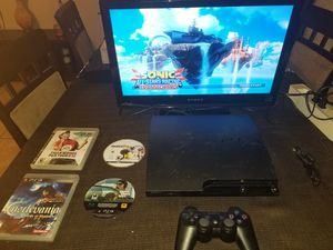 PS3 + Sonic + Castlevania +... for Sale in DW GDNS, TX
