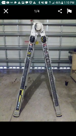 Comercial ladder 100% aluminium. for Sale in Lake Worth, FL