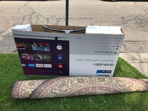 Free tv and rug for Sale in Columbus, OH