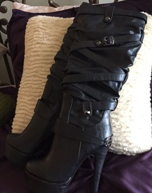 Rhaina Black Boots for Sale in Austin, TX
