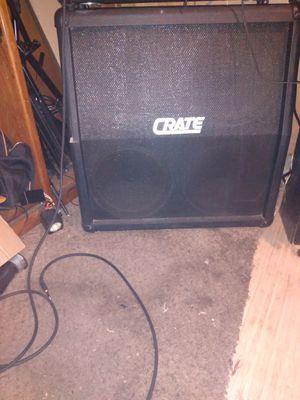 Crate half stack speakers for Sale in Pomona, CA
