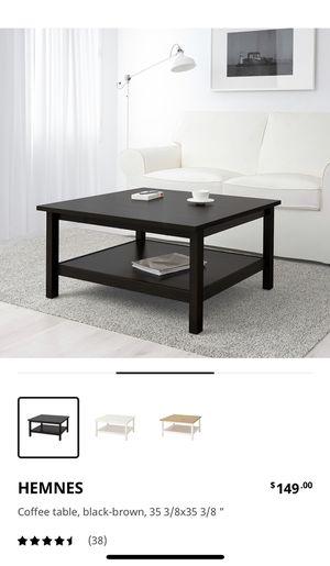 IKEA Hemnes coffee table Grey brown for Sale in Menifee, CA