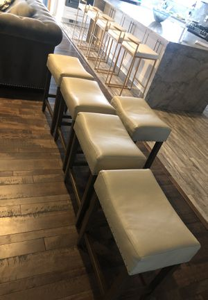 bar stools all five for $120.00 for Sale in Westland, MI