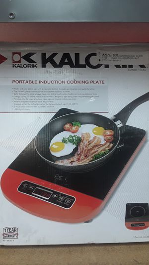 Kalorik Portable Induction Cooking Plate (Pan not included) for Sale in Davie, FL