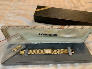 Longines Mother of pearl watch for Sale in Reedley, CA
