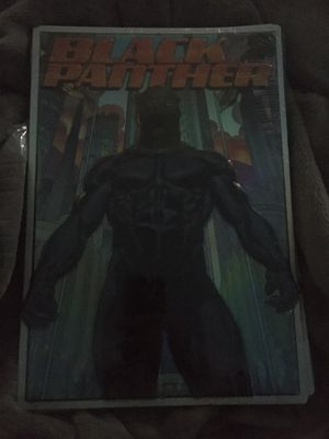 Marvel black panther avengers art decor metal sign 9x13in. for Sale in North Brunswick Township, NJ