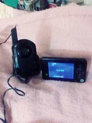 GE Wireless color camera and monitor for Sale in Wichita, KS