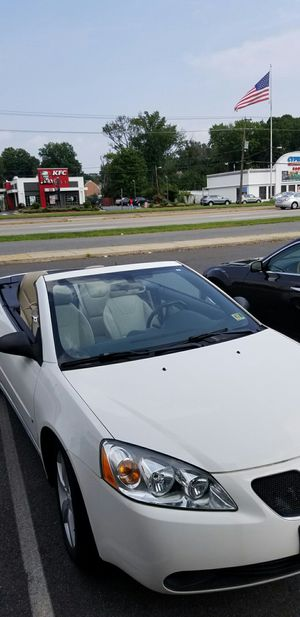 2007 Pontiac G6 GT Hard Top Convertible for Sale in Alexandria, VA