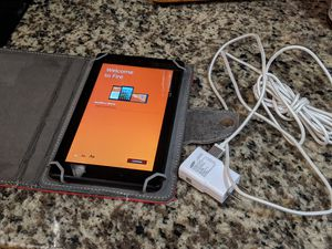 Amazon Kindle fire 7 with case for Sale in Tampa, FL