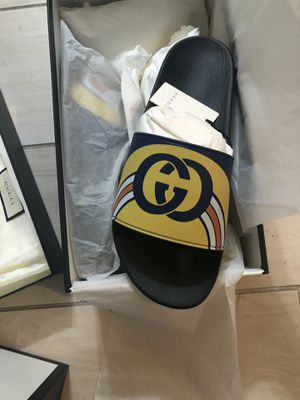 Brand new authentic Gucci slides size 12 for Sale in San Francisco, CA